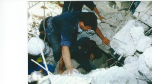 I saved 2 rescuers lives in Greece.